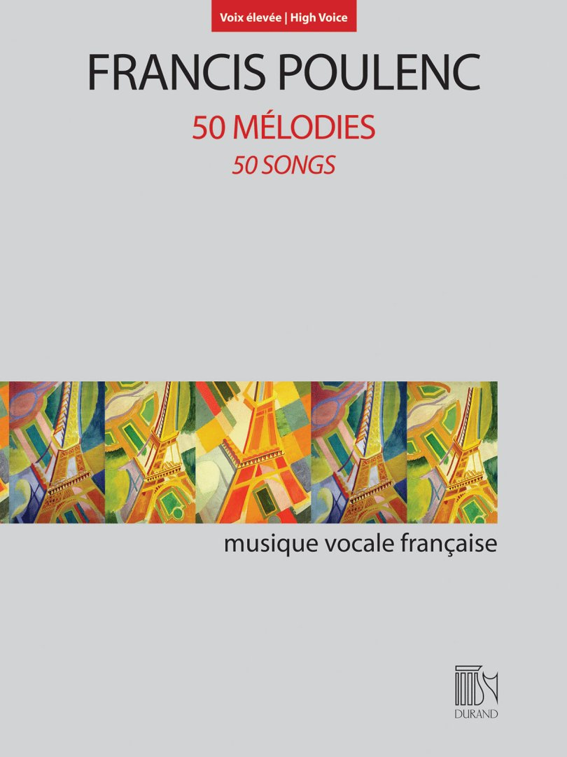 50 Melodies 50 Songs For High Voice And Piano