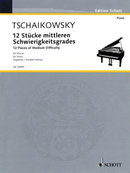 12 Pieces of Medium Difficulty (Piano Solo) (HL-49016249)