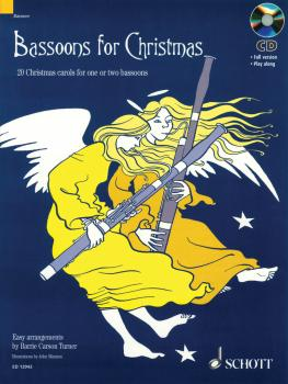 Bassoons for Christmas: 20 Christmas carols for one or two bassoons Wi (HL-49016811)