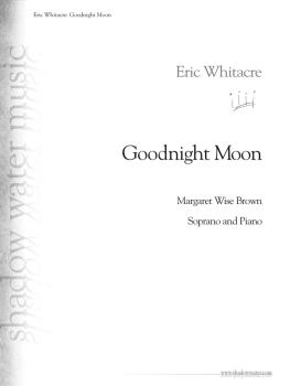 Goodnight Moon (for Soprano and Piano) (HL-00146391)