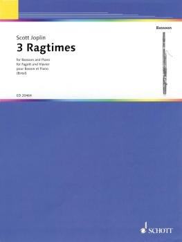 3 Ragtimes (for Bassoon and Piano) (HL-49017552)