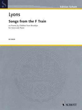 Songs from the F Train: on Poems by Children from Brooklyn Voice and P (HL-49018248)