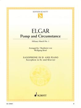 Pomp and Circumstance - Military March No. 1 (Alto Sax and Piano) (HL-49018404)