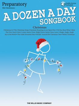 A Dozen a Day Christmas Songbook - Preparatory (Mid-Elementary Level) (HL-00147365)