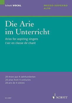 Arias for Aspiring Singers (Die Arie im Unterricht) (for Alto Mezzo-So (HL-49019433)