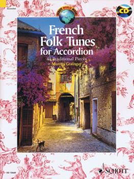 French Folk Tunes for Accordion: 45 Traditional Pieces (HL-49044163)