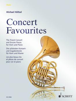 Concert Favorites: The Finest Concert and Encore Pieces for Horn and P (HL-49044380)