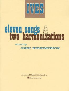 11 Songs and 2 Harmonizations (Voice and Piano) (HL-50234300)