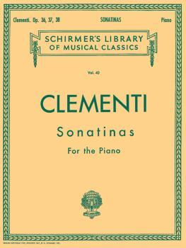 12 Sonatinas, Op. 36, 37, 38 (Piano Solo) (HL-50252300)