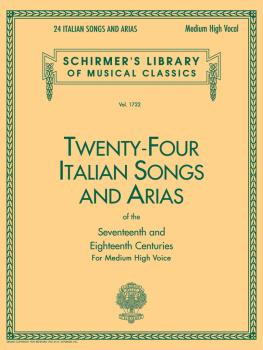 24 Italian Songs & Arias - Medium High Voice (Book only) (Medium High  (HL-50261140)