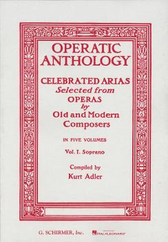 Operatic Anthology - Volume 1 (Soprano and Piano) (HL-50325830)