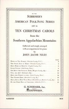 10 Christmas Carols from the Southern Appalachian Mountains (Piano Sol (HL-50327200)