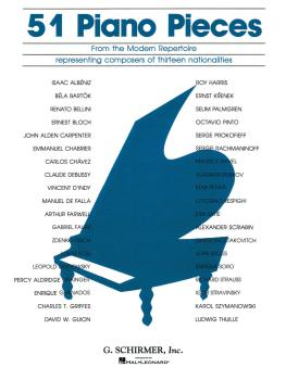 51 Pieces from the Modern Repertoire (Piano Solo) (HL-50327580)