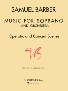 Music for Soprano and Orchestra (Voice and Piano) (HL-50331490)