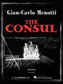 The Consul (Vocal Score) (HL-50337690)