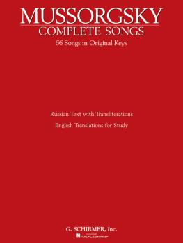 Complete Songs (Voice and Piano) (HL-50481791)