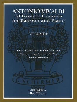 10 Bassoon Concerti, Vol. 2: Bassoon with Piano Accompaniment (HL-50481792)