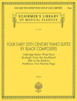 Four Early 20th Century Piano Suites by Black Composers (Piano Solo) (HL-50482960)