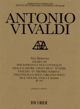 Nisi Dominus RV803: Critical Edition Score (HL-50485491)