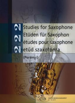 222 Studies for Saxophone (Intermediate Level) (HL-50485513)
