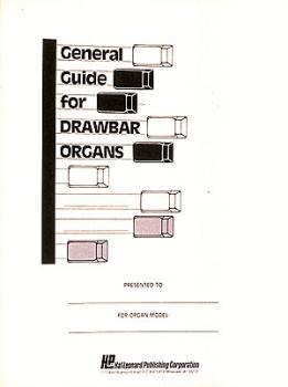 General Guide For Drawbar Organs (HL-00210010)