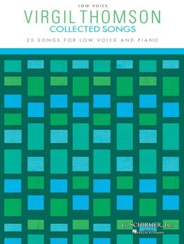 Virgil Thomson - Collected Songs (Low Voice 25 Songs) (HL-50486467)