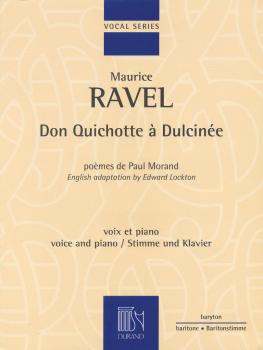 Don Quichotte á Dulcinée (for Baritone and Piano) (HL-50486495)