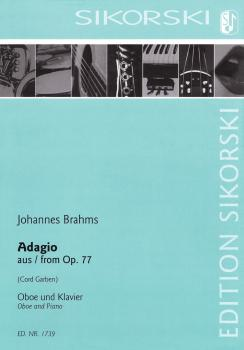 Adagio from Op. 77 (Oboe and Piano) (HL-50490506)