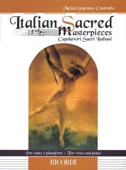 Italian Sacred Masterpieces: Mezzo-Soprano/Contralto and Piano (HL-50497571)