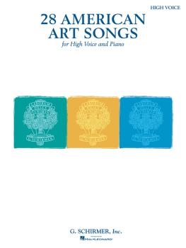 28 American Art Songs (High Voice and Piano) (HL-50499822)