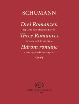 Three Romances, Op. 94 for Oboe (Flute) and Piano (Clarinet) (HL-50510407)