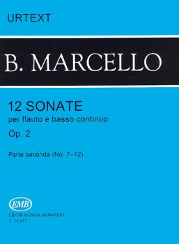 12 Sonatas for Flute and Basso Continuo, Op. 2 - Volume 2 (HL-50510545)