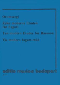 10 Modern Etudes-bsn (HL-50510586)