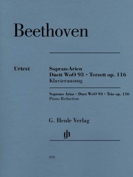 Soprano Arias · Duet WoO 93 · Trio, Op. 116: Soprano, Tenor, Bass, and (HL-51480970)