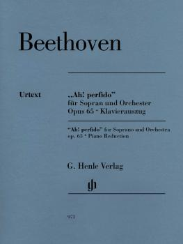 Ah! Perfido Op. 65: Soprano and Orchestra Soprano and Piano Reduction (HL-51480971)