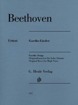 Ludwig van Beethoven - Goethe Songs (HL-51481017)