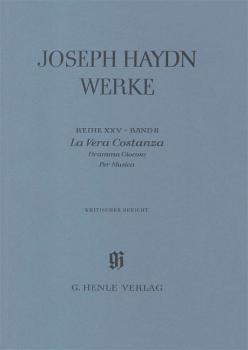 La Vera Costanza - Dramma Giocoso per Musica: Haydn Complete Edition,  (HL-51485703)