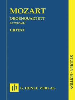 Oboe Quartet F Major K.370 (368b) (Study Score) (HL-51489794)