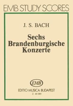 Six Brandenburg Concertos, BWV 1046-1051 (Score) (HL-50510025)
