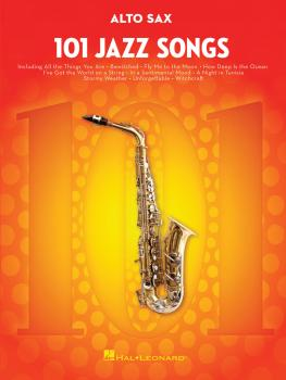 101 Jazz Songs for Alto Sax (HL-00146366)