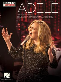 Adele - Original Keys for Singers (HL-00155395)