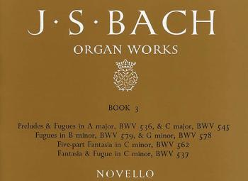 J.S. Bach: Organ Works Vol.3 (Novello) (HL-14002967)