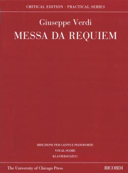 Messa da Requiem: Critical Edition Practical Series Vocal Score (HL-50600501)