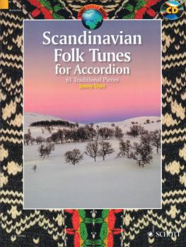 Scandinavian Folk Tunes for Accordion: 61 Traditional Pieces - Book/CD (HL-49044902)