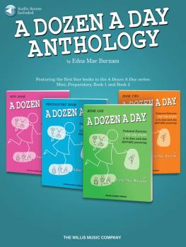 A Dozen A Day Anthology (HL-00158307)