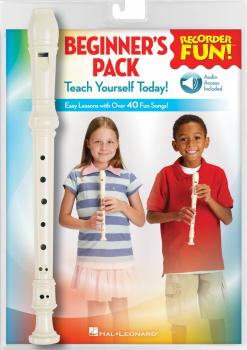 Recorder Fun! Beginner's Pack: Teach Yourself Today - Easy Lessons wit (HL-00158732)