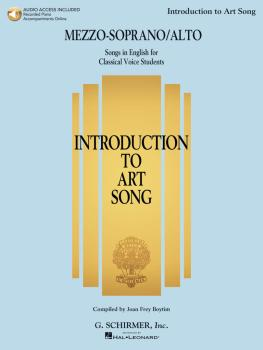 Introduction to Art Song for Mezzo-Soprano/Alto: Songs in English for  (HL-50600558)