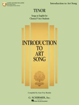 Introduction to Art Song for Tenor: Songs in English for Classical Voi (HL-50600559)