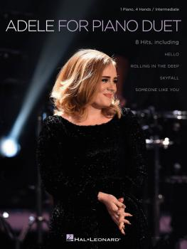Adele for Piano Duet: 1 Piano, 4 Hands / Intermediate Level (HL-00172162)