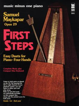 Samuel Maykapar - First Steps, Op. 29 (Easy Duets for Piano - Four Han (HL-00400218)